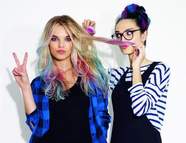 Набор мелков для волос из 36 цветов