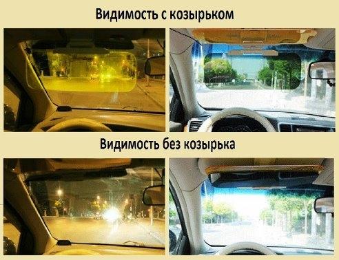 Антиблик в авто