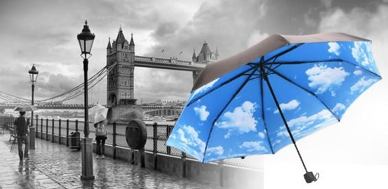 """Зонт """"Небо с облаками"""""""