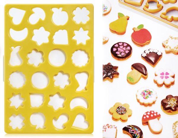 Купить удобные формочки для красивого печенья