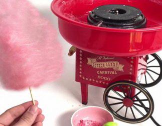Мини аппарат для приготовления сладкой ваты
