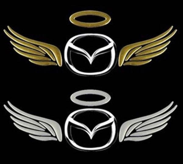 Наклейка на авто крылья