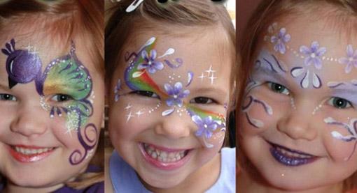 Краска грим для лица