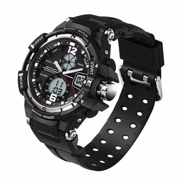 Ударопрочные мужские наручные часы G-shock с подсветкой