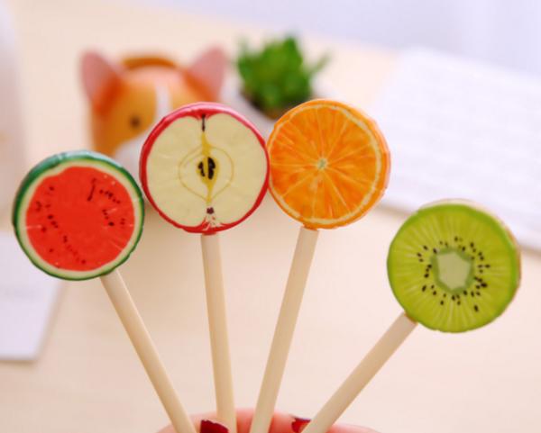 Ручки фрукты