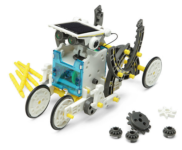 робот конструктор +на солнечной батарее