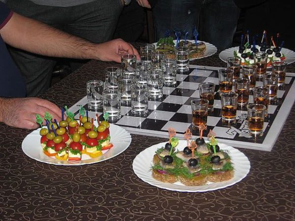 "Игра настольная ""Пьяные шахматы"""