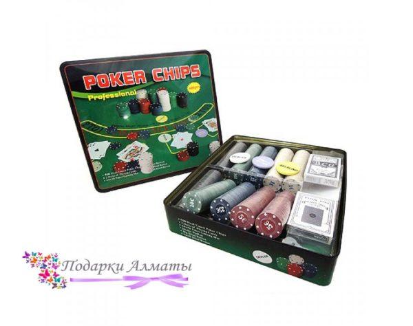 Покерный набор 500 фишек