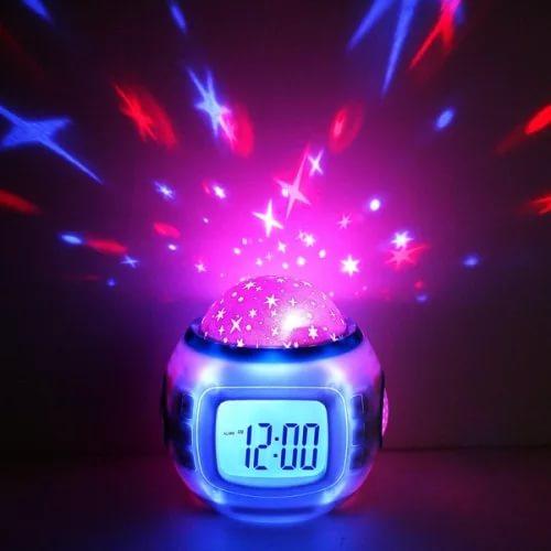 Часы будильник звездное небо