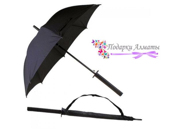 Мужской зонтик Меч самурайский