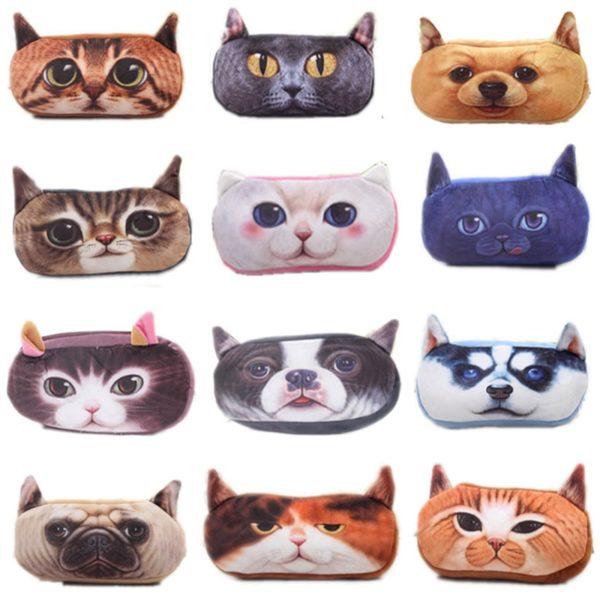 Пенал 3 д кошки