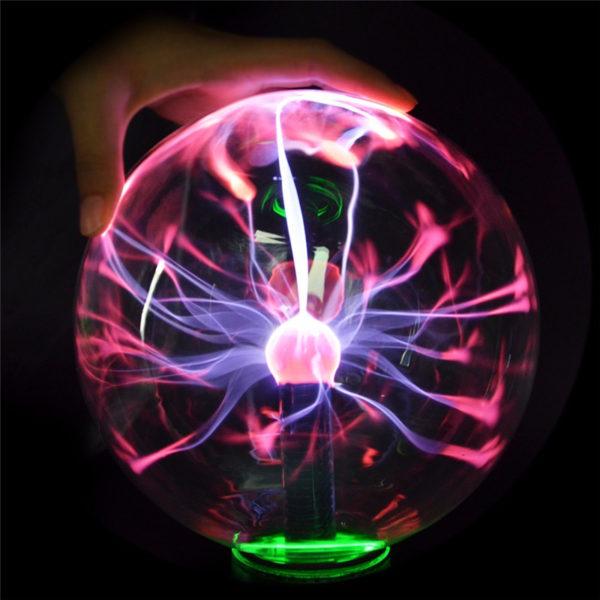 Светильник плазменный шар молнии