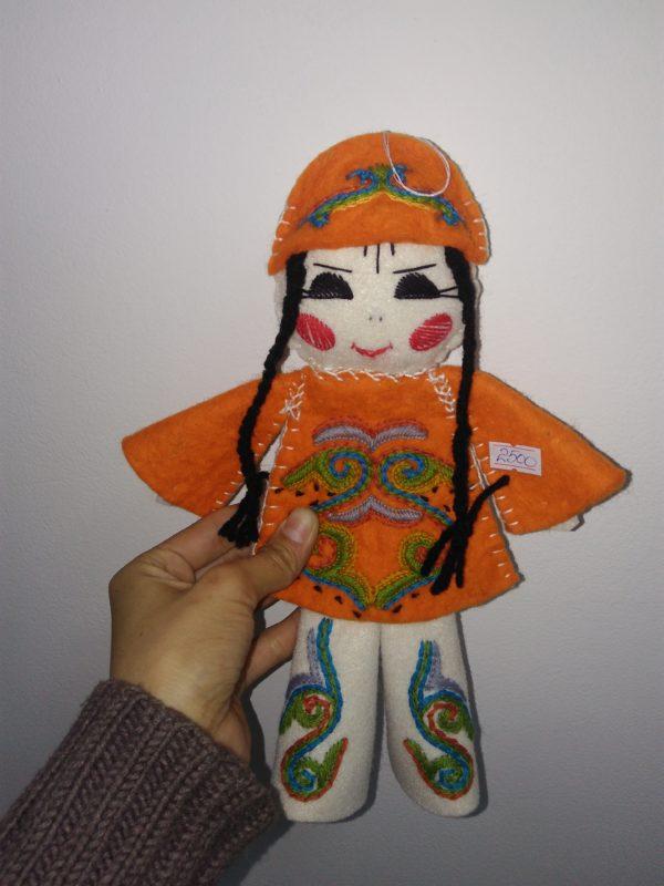 Куклы ручной работы из войлока