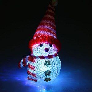 Светильник снеговик