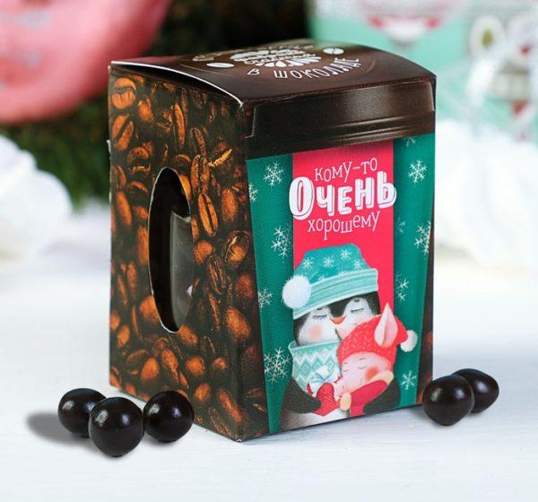 кофе в шоколаде конфетки