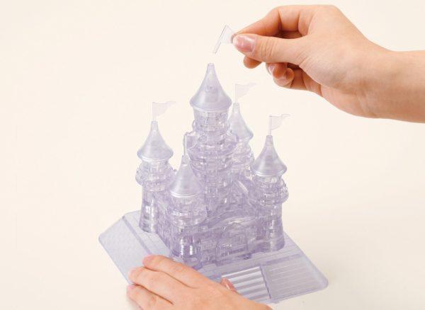 Замок пластиковый сборный