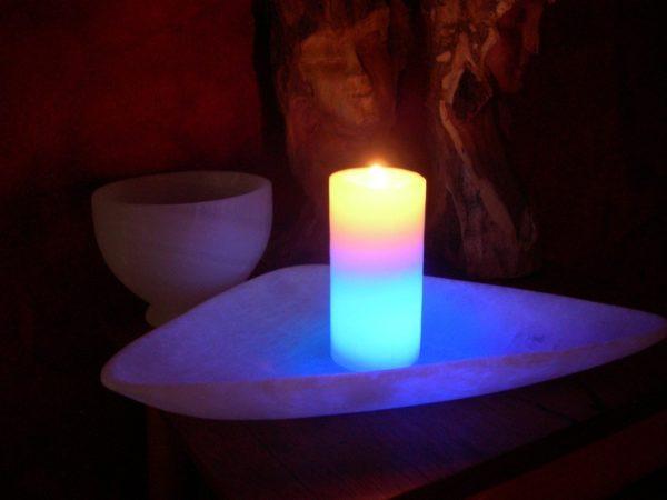 лед свеча