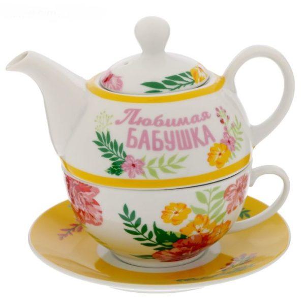 "Чайный набор ""Любимая бабушка"""