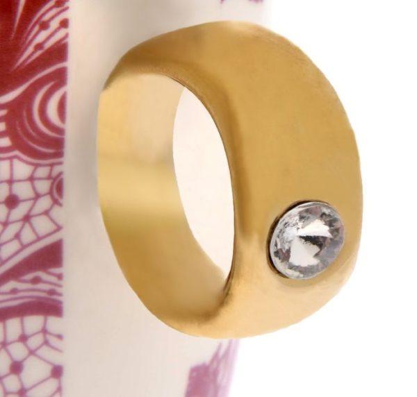 """Кружка кольцо """"Самой прекрасной"""""""