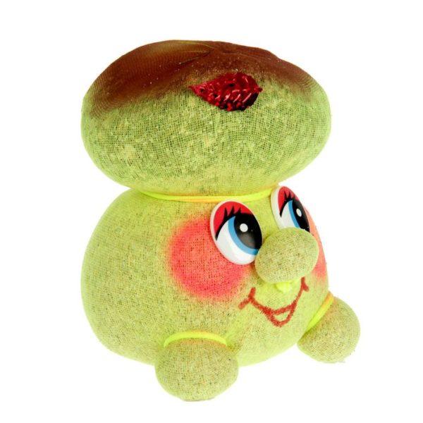 Игрушка растет трава с головы