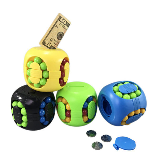 копилка головоломка цветные шарики