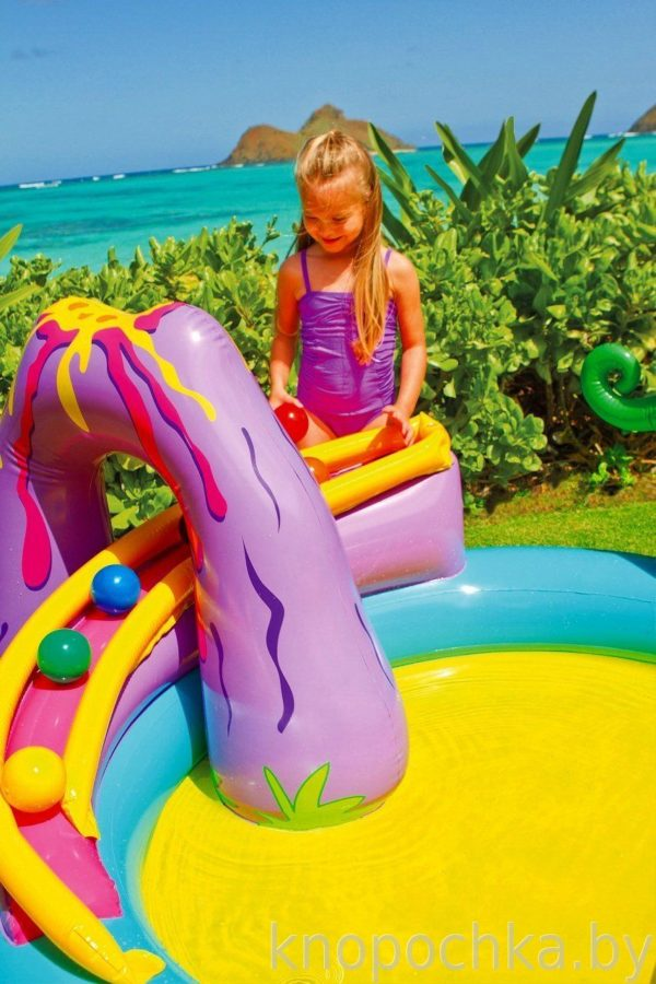 """Надувной бассейн для детей """"Динозавр"""""""