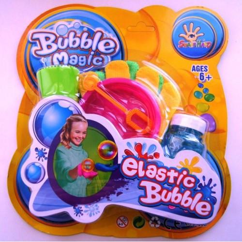 Нелопающиеся мыльные пузыри с перчатками