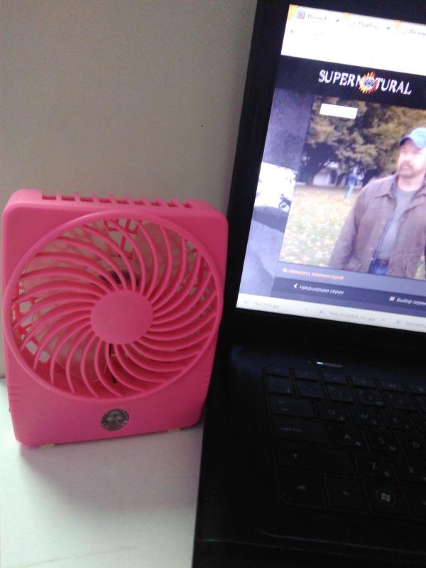 Портативный Usb вентилятор