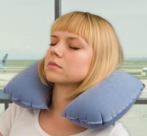 Надувная подушка подголовник
