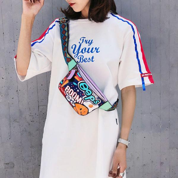 Модная сумочка на пояс