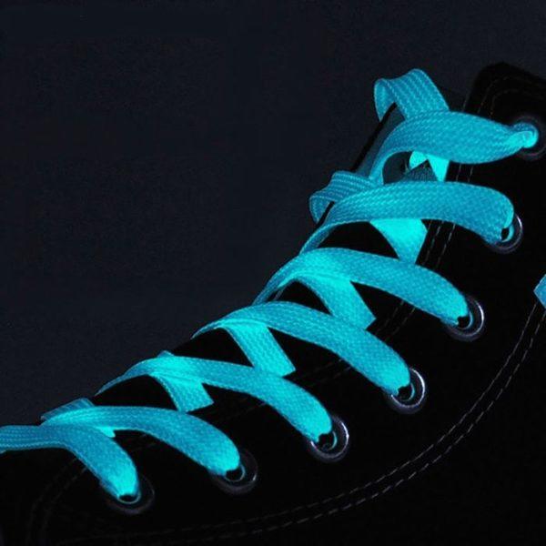 шнурки светящиеся в темноте