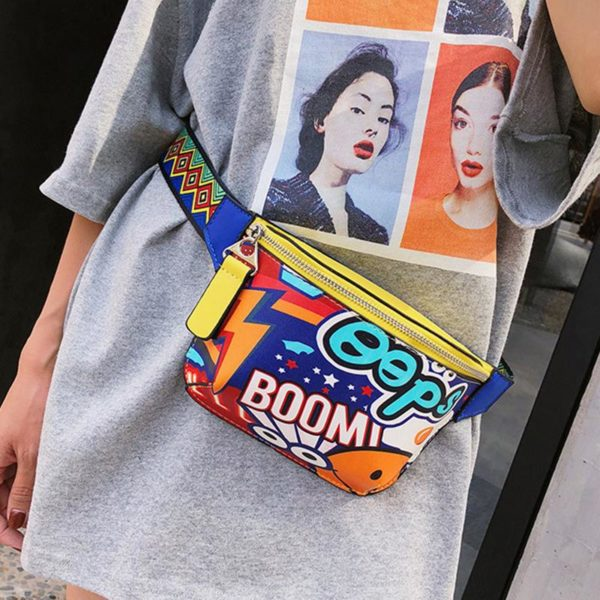 креативная сумка на пояс