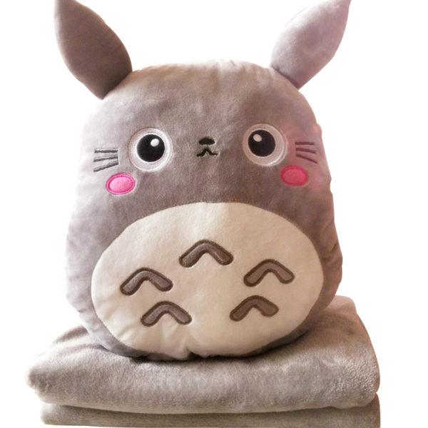 Тоторо плед подушка
