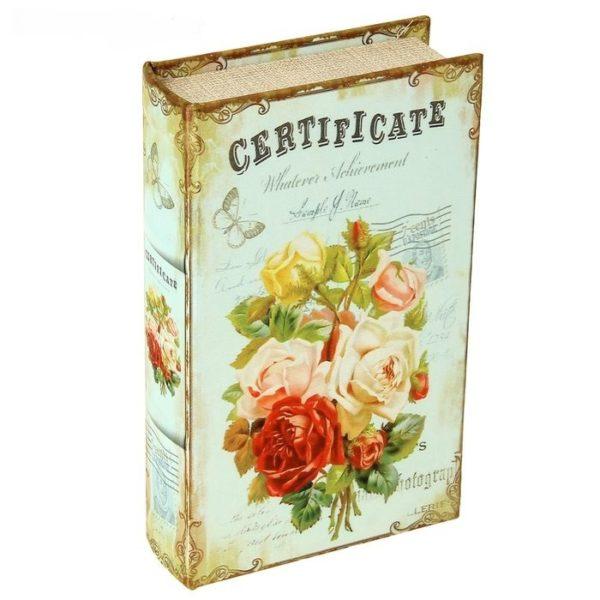 Книга сейф женщине в подарок