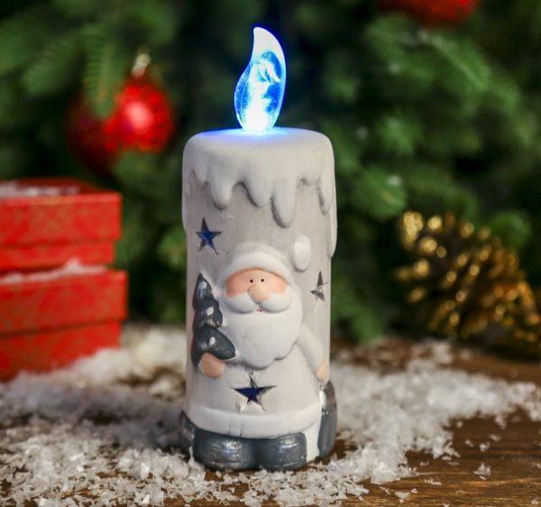 Сувенир новогодний свеча