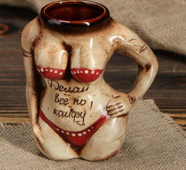 """Пивная кружка """"Женское тело"""""""