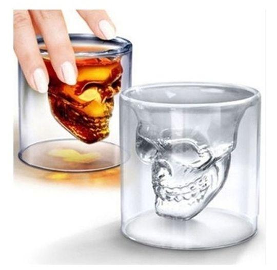 стакан череп