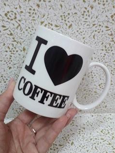 кружка меняет цвет Я люблю кофе