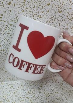 """Кружка хамелеон """"Я люблю кофе"""""""