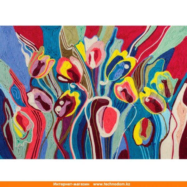 Набор для творчества ниткография «Тюльпаны»