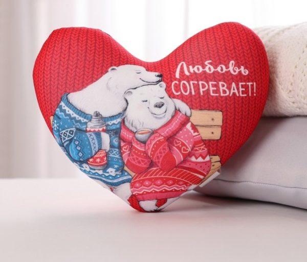 подарок любимой в виде сердца