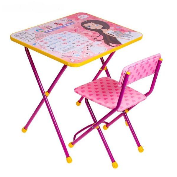 набор стол и стул детский