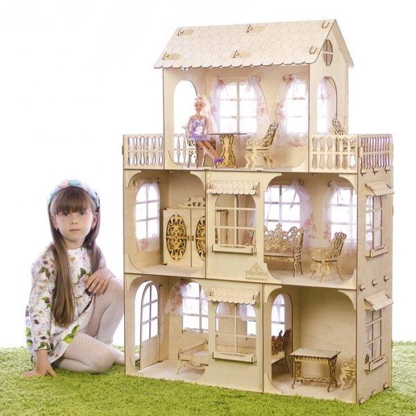 большой кукольный домик в алматы