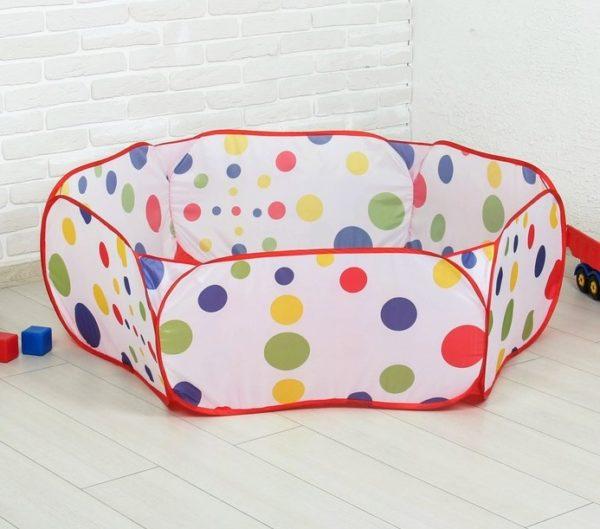 недорогой сухой бассейн для шариков детский для дома