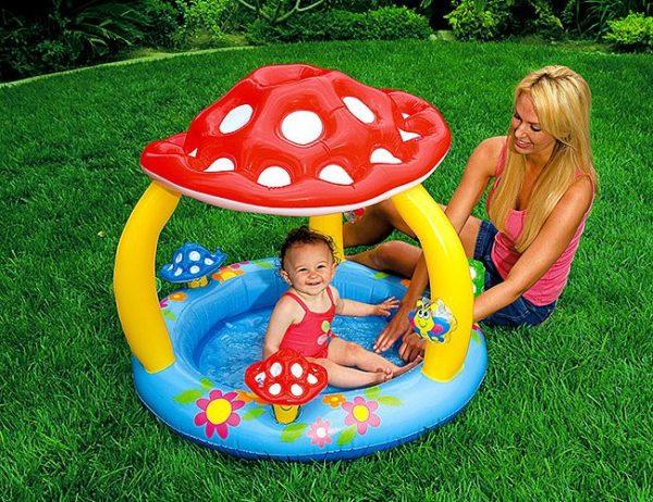 бассейн для самых маленьких