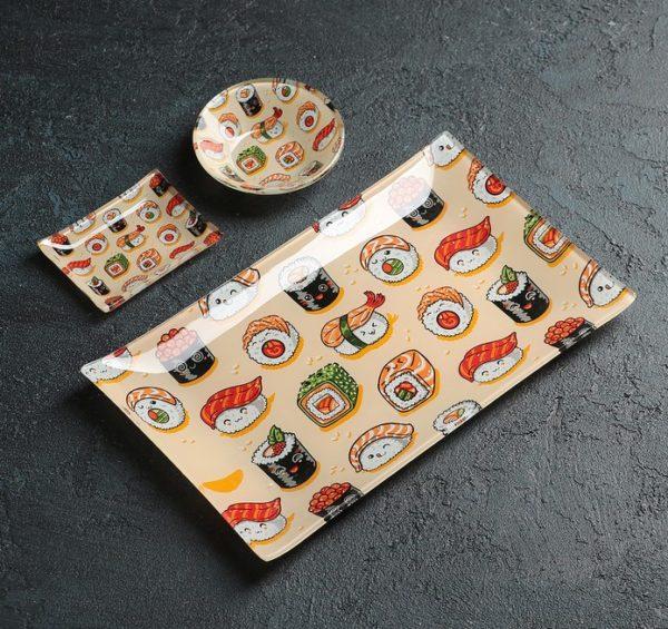 наборы посуды для суши