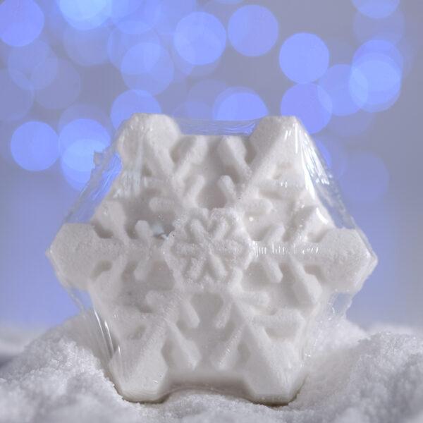 Бомбочка для ванны «Снежинка»